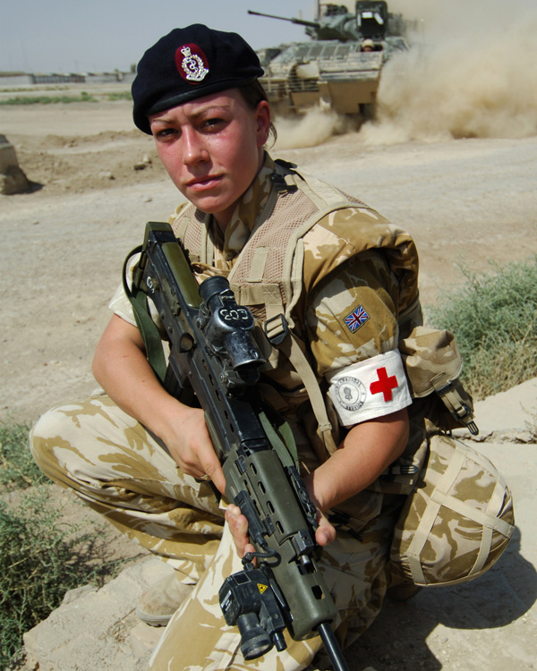 Private Michelle Norris MC, Royal Army Medical Corps, 2006