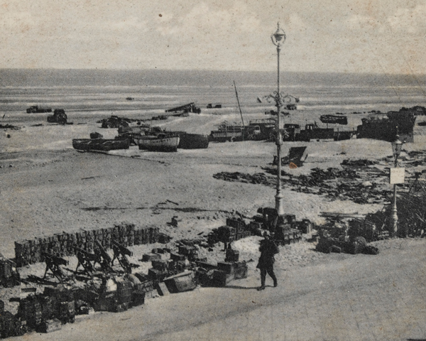 Abandoned equipment, Dunkirk, 1940