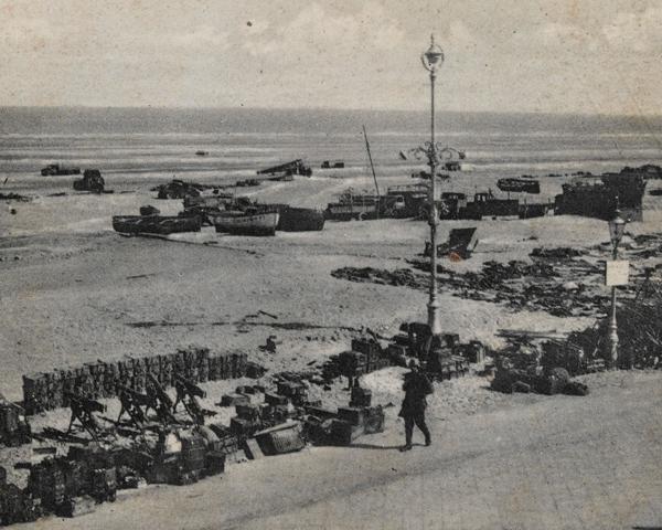 Abandoned equipment, Dunkirk, 1940