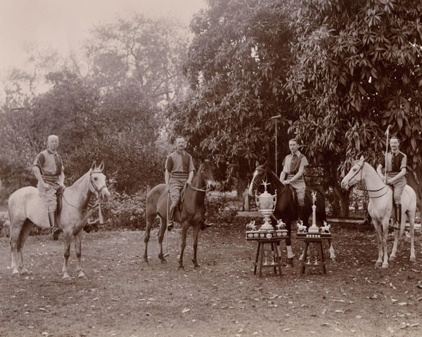 The Queen's Own Corps of Guides polo team, 1905