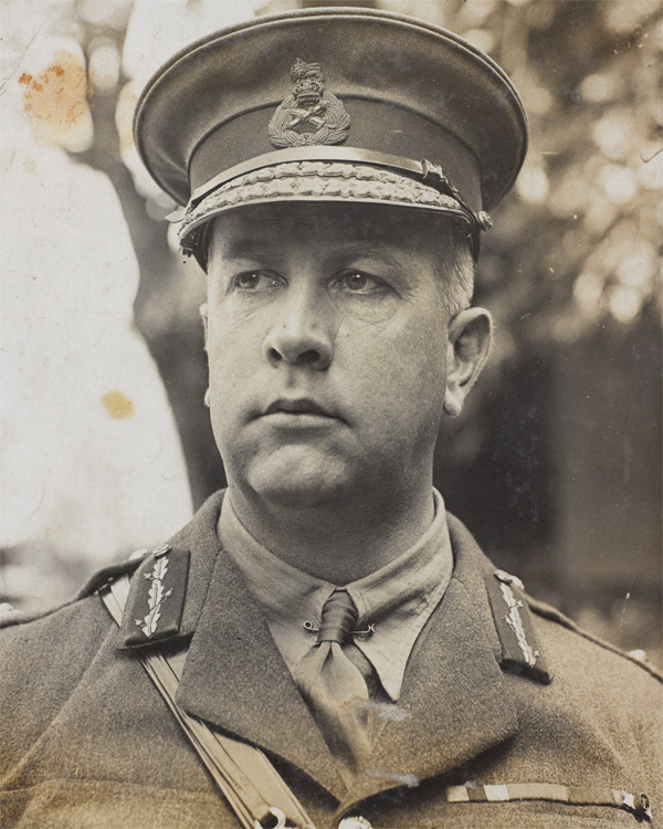 Sir Arthur Currie in 1917