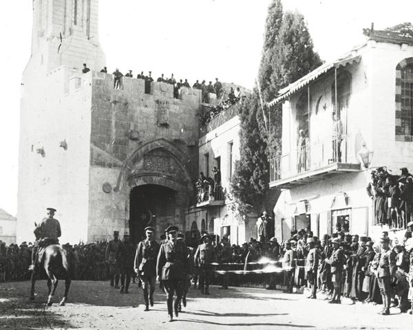 General Sir Edmund Allenby entering Jerusalem, 11 December 1917