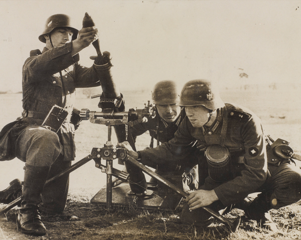 German infantry training at Doberitz, 1938