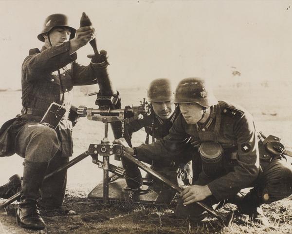 German infantry training at Doberitz, 1938