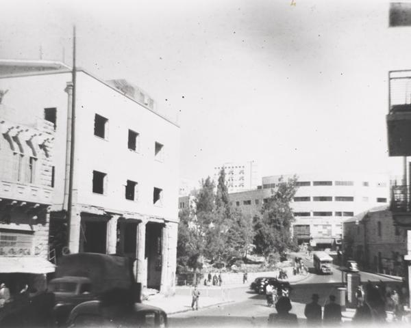 King David Hotel, Jerusalem, 1947