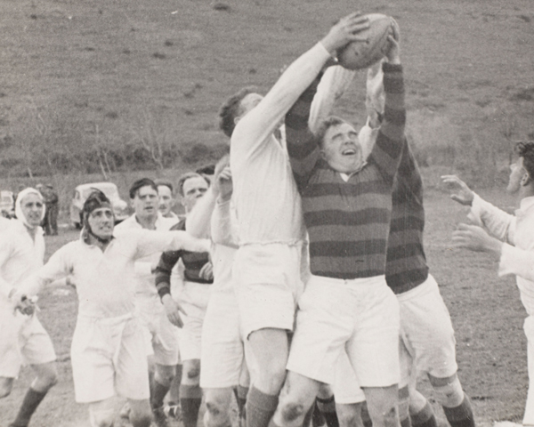 Regimental rugby, 1950s