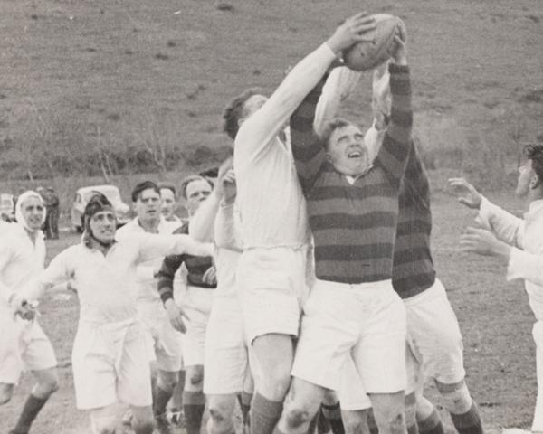 Regimental rugby, 1950s