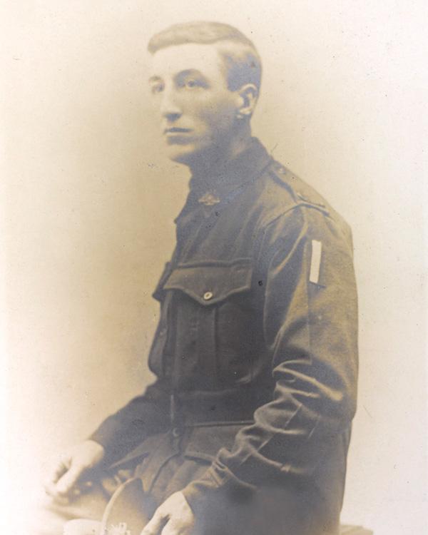 Private Leslie 'Jack' Basset