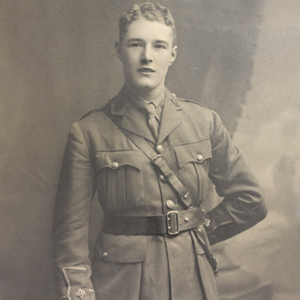 Second Lieutenant James Sutherland, December 1915