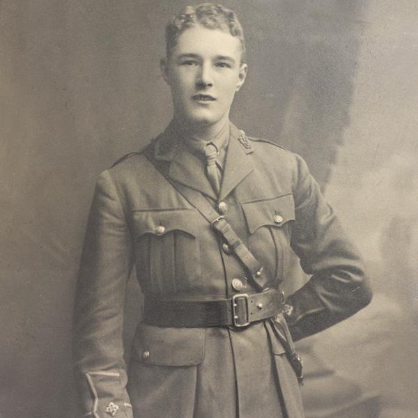Second Lieutenant James Sutherland, December 1915