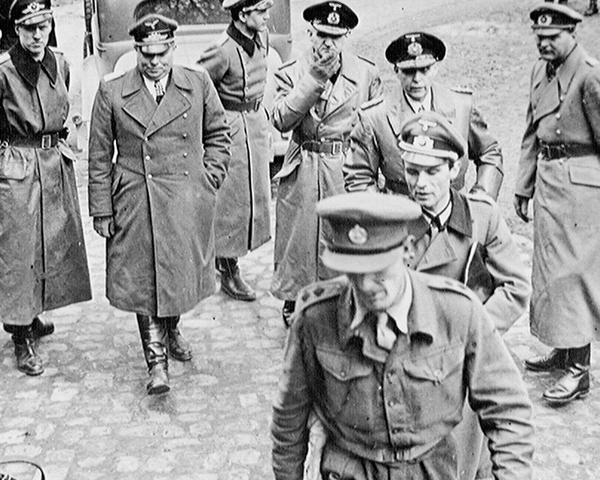 Senior German officers arrive at 21st Army Group HQ asking for surrender terms, 3 May 1945