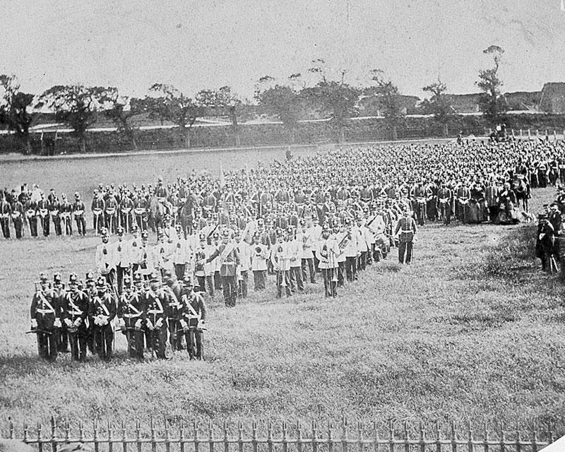The East Kent Militia, c1859