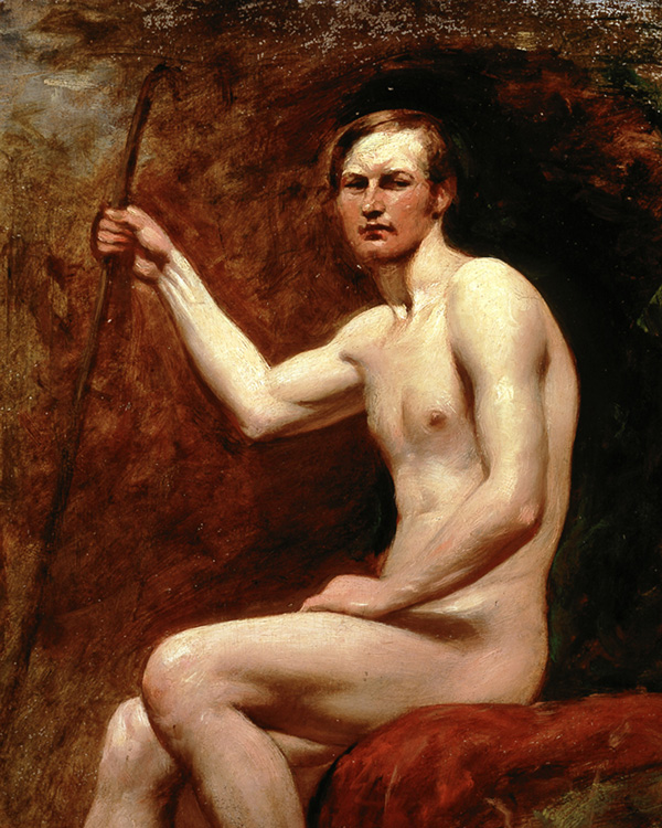 Guardsman Higgins by William Etty, c1830