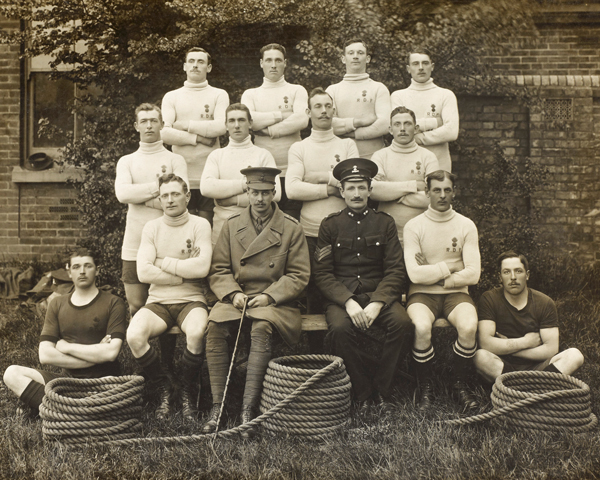 2nd Battalion The Royal Dublin Fusiliers' Tug-of-War Team, 1914