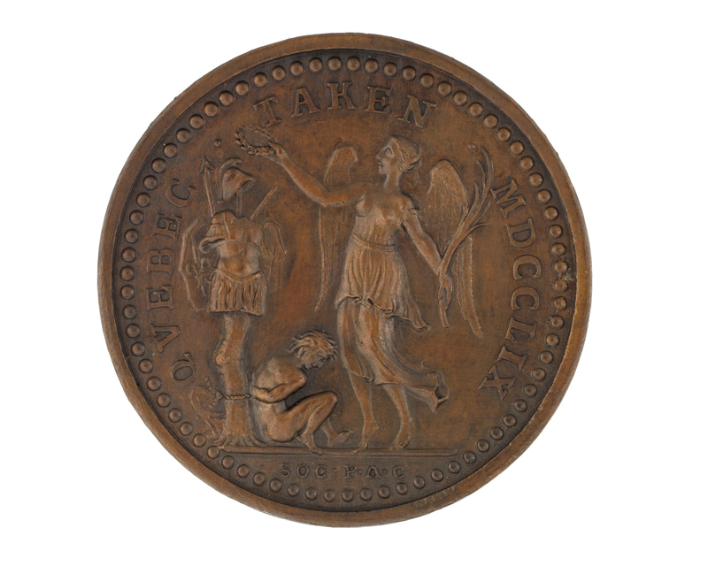 Medal commemorating the capture of Quebec 1759