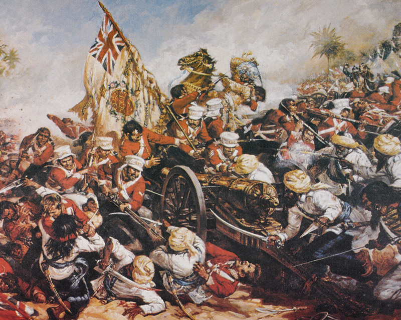 Battle of Ferozeshah, 21 December 1845