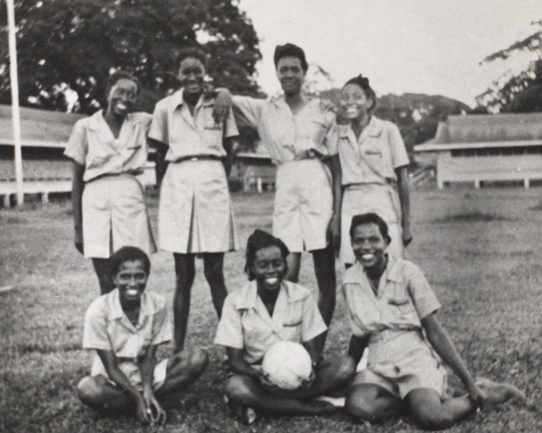 The West Indies Auxiliary Territorial Service net ball team, c1943