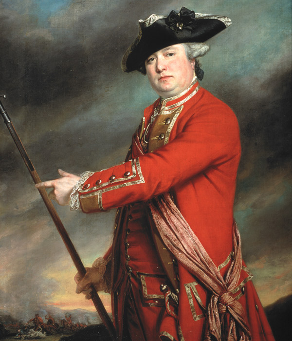 Lieutenant Colonel Francis Smith, 10th Regiment of Foot, 1764
