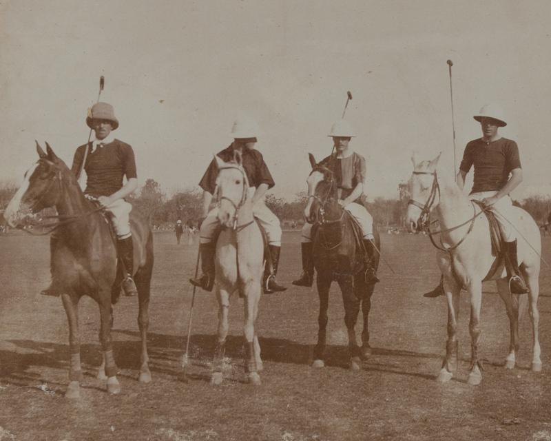 Polo team, 25th Cavalry (Frontier Force), 1908