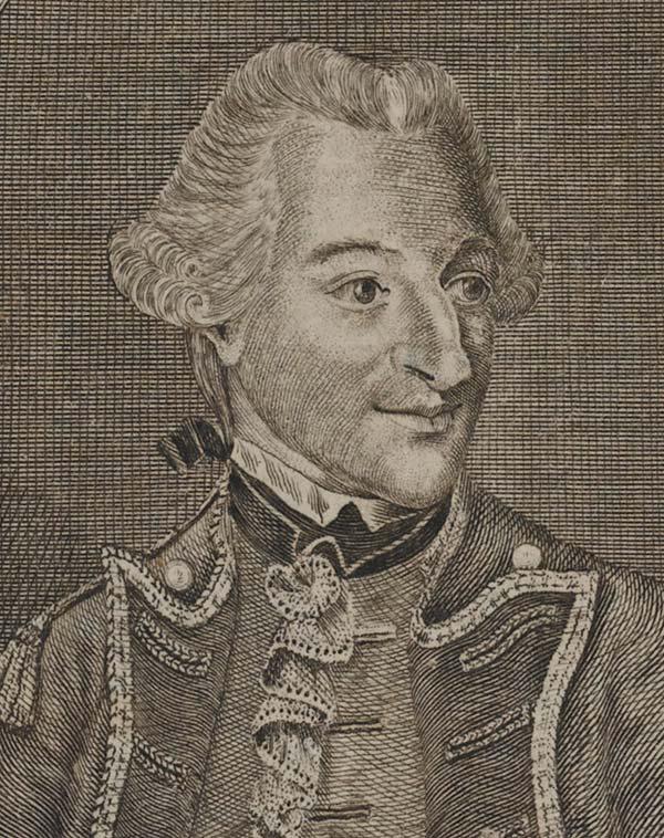 Brigadier Hugh Percy, c1768