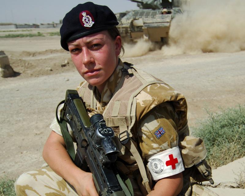 Michelle Norris MC in Iraq, August 2006