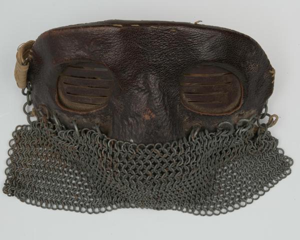 Tank mask, 1916