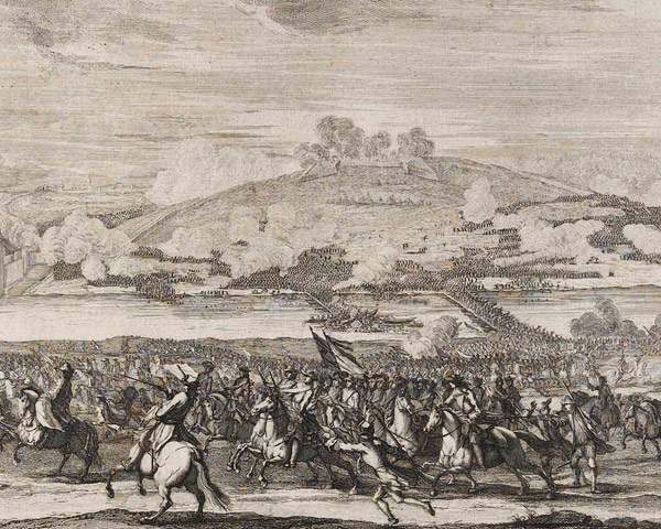The Battle of Schellenberg, Bavaria, 1704