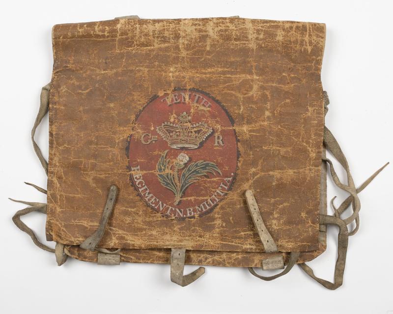 Militia knapsack, c1795