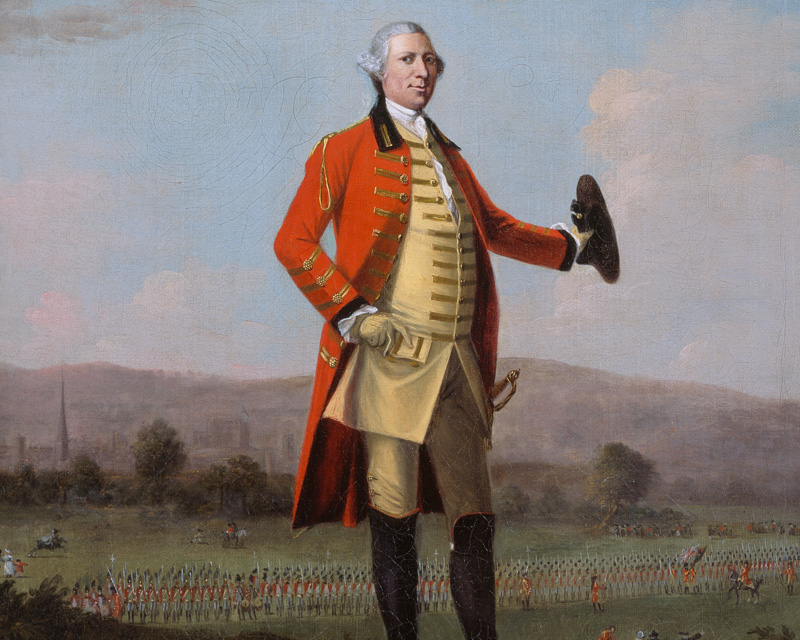 Sir Armine Wodehouse MP - one of the gentry behind the Militia Act (1757), which established a county-based conscripted force