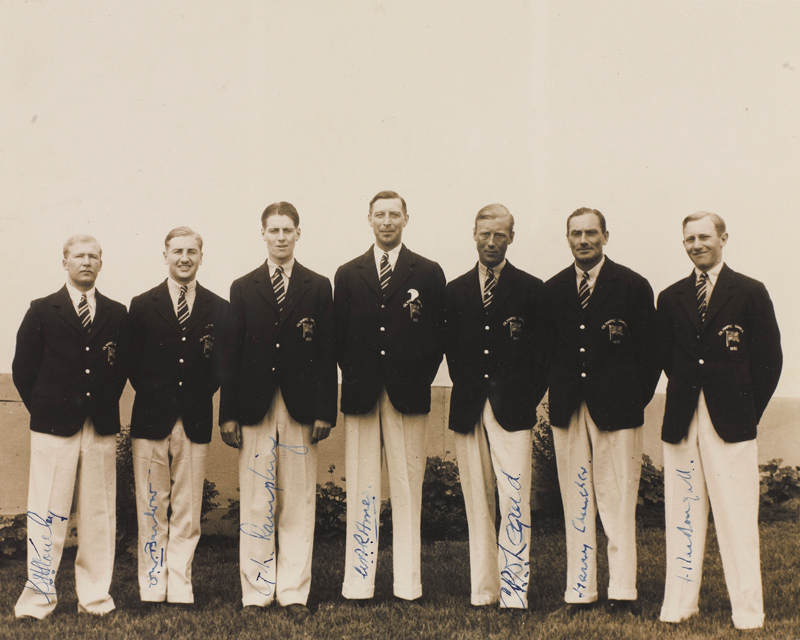 Army members of the 1932 British Olympic Team were almost all officers