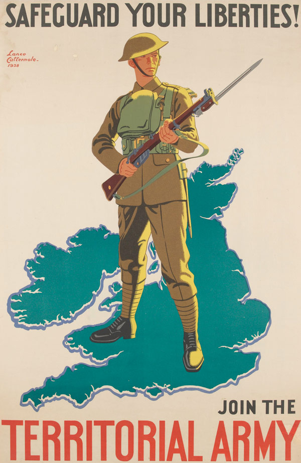 'Safeguard Your Liberties! Join The Territorial Army', 1938