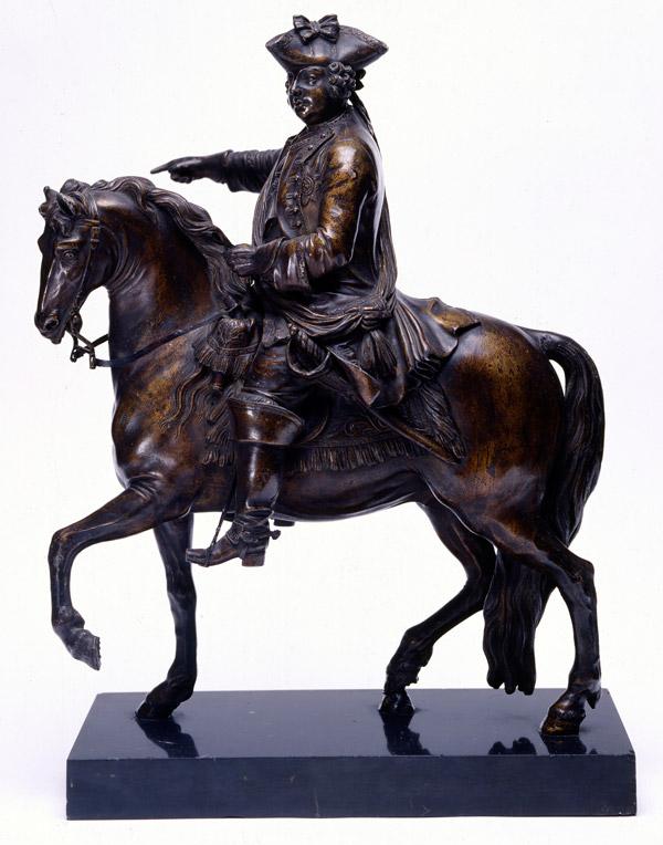Statuette of William Augustus, Duke of Cumberland, c1746