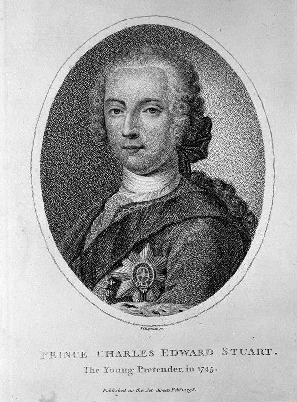 'Prince Charles Edward Stuart, The Young Pretender' 1745