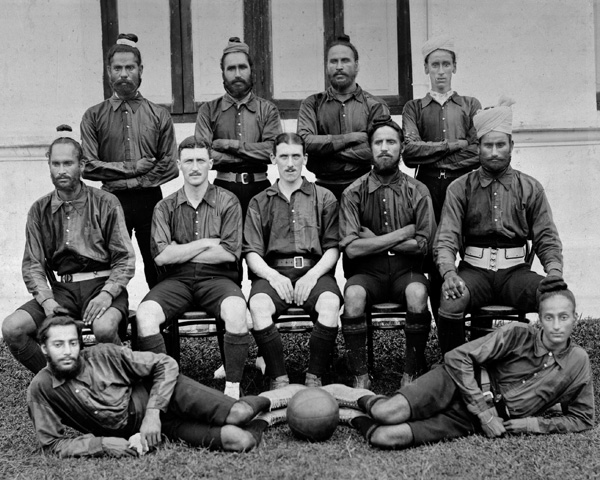 Football team of the 20th Duke of Cambridge's Own Infantry (Brownlow's Punjabis), 1920