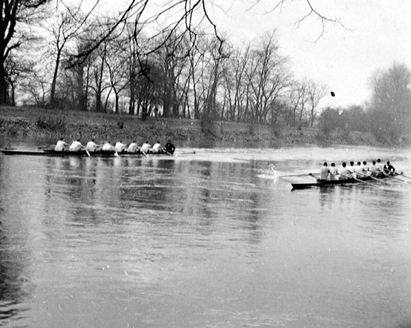 Inter-regimental rowing, 1938