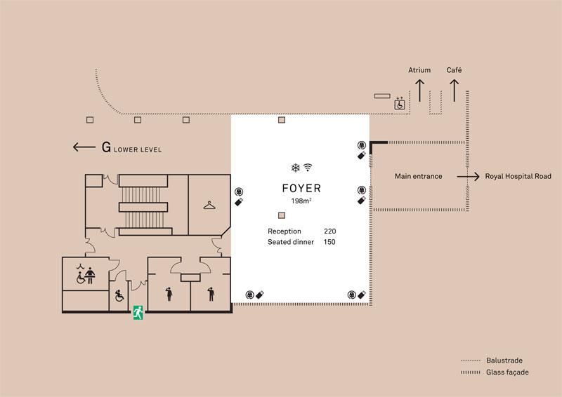 Foyer floor plan
