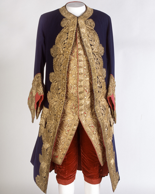 French general or marshal's uniform, c1700