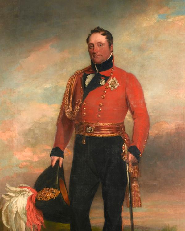 Lieutenant-General Rowland Lord Hill, 1819