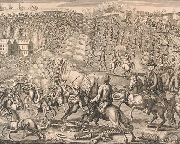 The Battle of Culloden, 1746