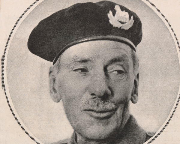 Lieutenant-Colonel James Carne VC, 1953