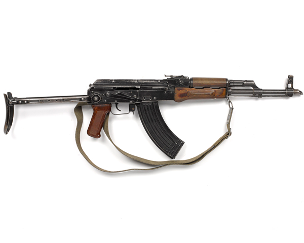 7.62 mm M1965 Kalashnikov AKM assault rifle, 1980