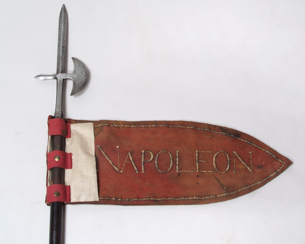 Pennant of the French 62nd Regiment of the Line captured at Salamanca, 1812
