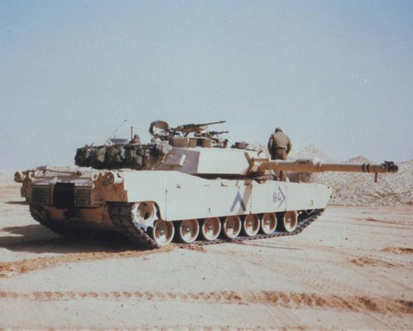 American M1 Abrams main battle tank, 1991