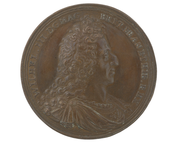 Medal commemorating King William III as Commander-in-Chief, 1697