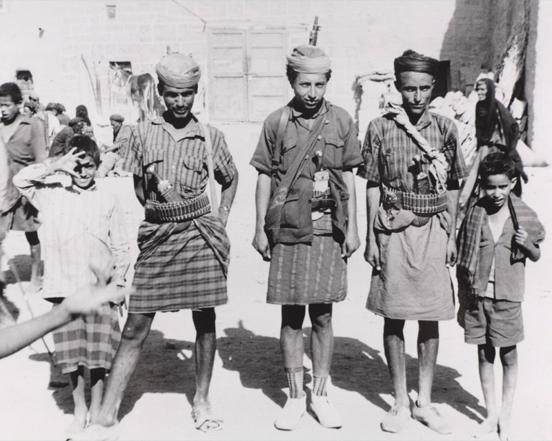 Tribesmen in Aden, 1965