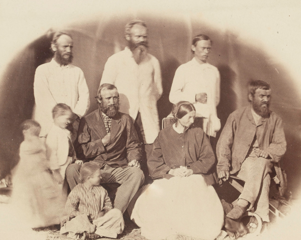 Some of the hostages taken by King Theodore, 1868