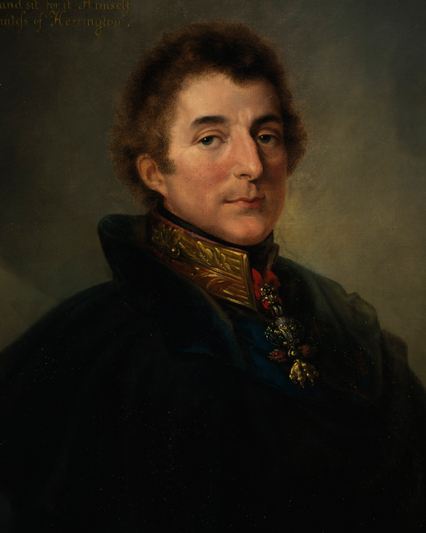 Field Marshal Arthur Wellesley, 1st Duke of Wellington, c1820