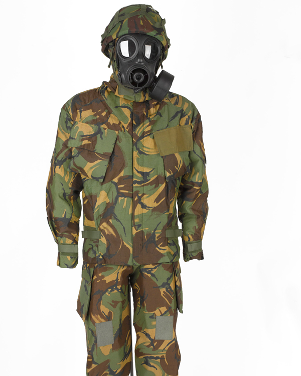 Nuclear, Biological and Chemical (NBC) Mk IV protective suit, c1990