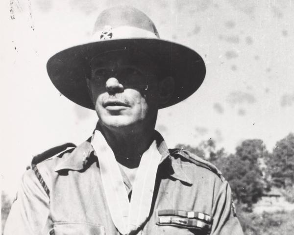 Lieutenant-General Sir Montagu Stopford, 1945
