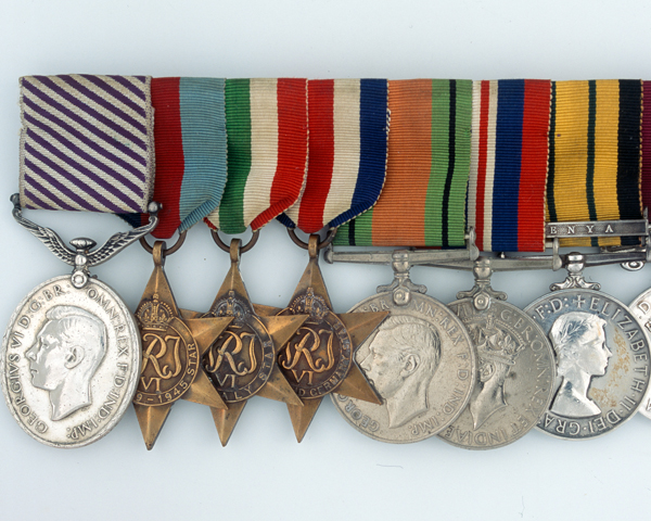 Distinguished Flying Medal and group awarded to Colour Sergeant George Stremes who landed a badly damaged glider full of troops at Arnhem